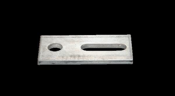 Adapterblech A2 für Stockschrauben (M12)