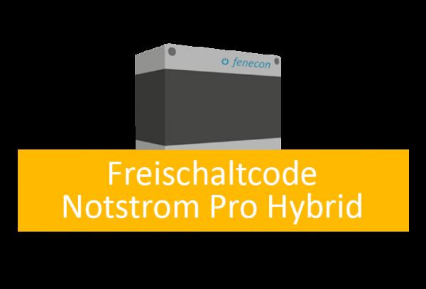 FENECON Freischaltcode Notstrom Pro Hybrid