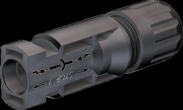 MC4-Stecker PV-KST4/6II-UR