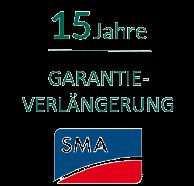 SMA 15 Jahre Garantieverlängerung Active bis 25kVA