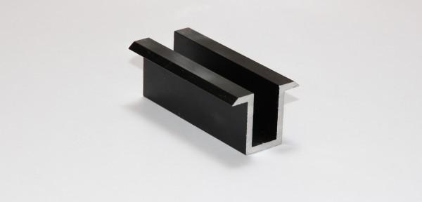 Modulmittelklemme ALU schwarz Länge 70mm