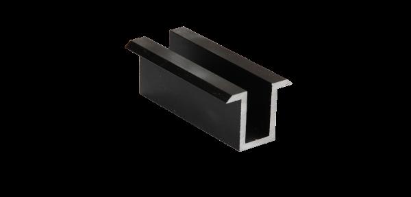 Modulmittelklemme ALU schwarz (70mm)