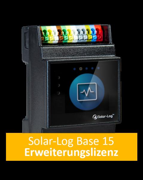 Solar-Log-Base 15 Erweiterungslizenz